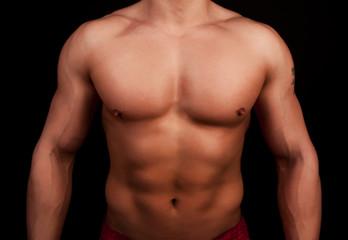 Sexy torso ot athlete