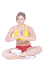 Sporty Attractive young woman