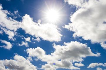 sky and sunray