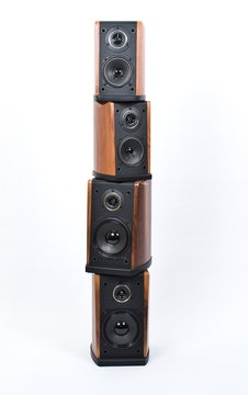 Stack of acoustic systems