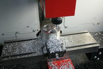 Fototapeta CNC Frezowanie Toczenie Produkcja obraz