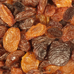 Raisins abstract background