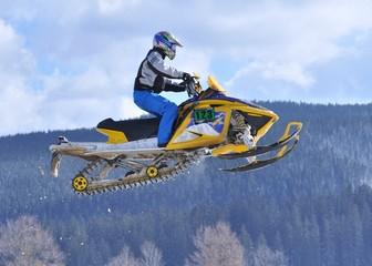 Wall Mural - snowmobile sautant