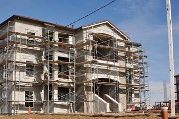 Apartment Complex Under Construction