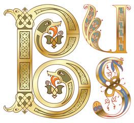 capitals and initials of the ancient manuscripts