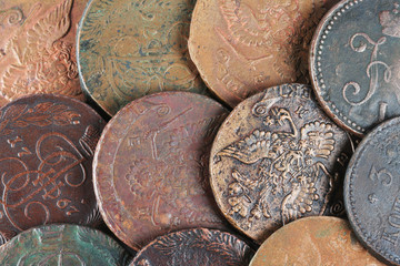 Ancient Russian coins