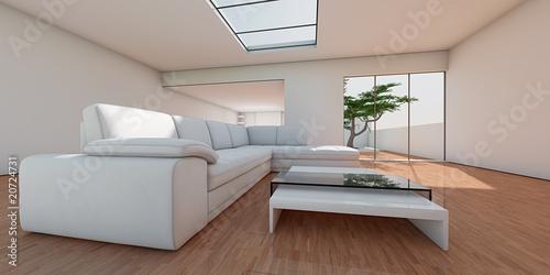Elegant Wohnzimmer Am Baum V2