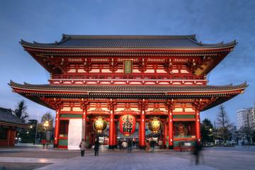 Hozo-mon Gate at Senso-ji Temple, Asakusa, Tokyo, Japan