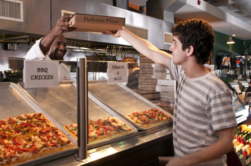 Printed roller blinds Pizzeria Pizza to Go