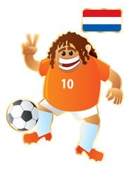 Football mascote Holland