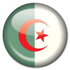 Chapa bandera Argelia