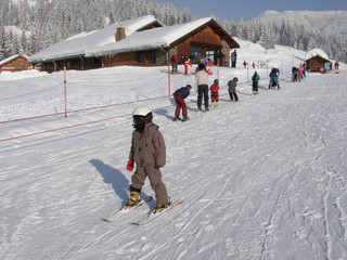Apprentissage du ski
