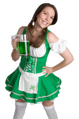 Laughing Beer Girl