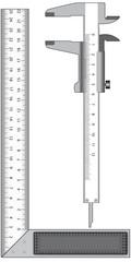 Angle and calliper