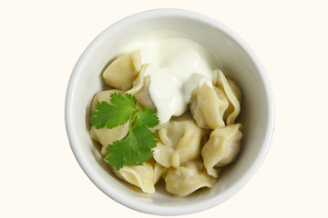 Pelmeni - Russian food