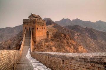 Fotobehang Chinese Muur Great Wall of China