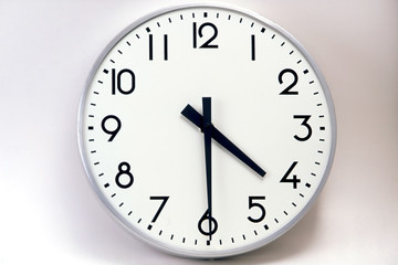 Obraz Clock - fototapety do salonu