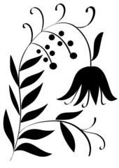 plant silhouette
