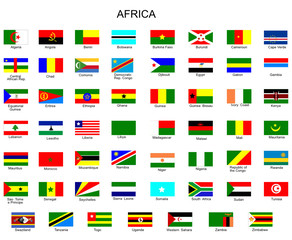 List of all flags of Africa  countries