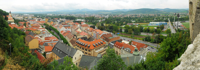 old historic town of Trencin