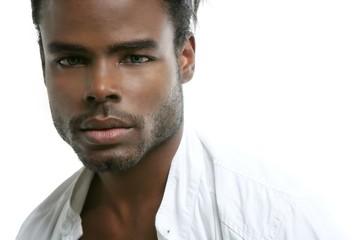 Handsomen black fashion african young man