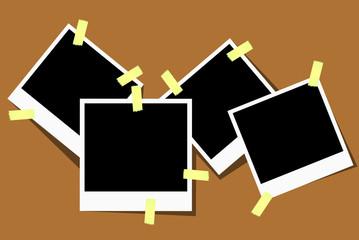vector blank photos
