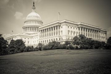 Kapitol in Washington DC, schwarzweiß
