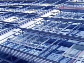 Fassade eines modernen Wohngebäudes, Kiel, Deutschland