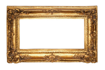 Old antique gold frame