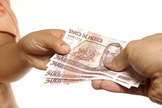 Mexican pesos exchange