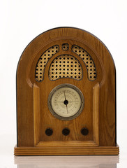 Antique retro radio