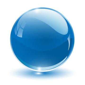 3D crystal sphere