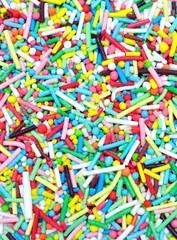 Forme di zucchero colorato