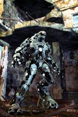 Wall Mural - alien robot