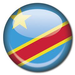 Chapa bandera Republica Democratica Congo