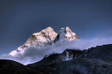 Acrylic Prints Nepal Ama Dablam - Solo Khumbu, Himalaja, Nepal