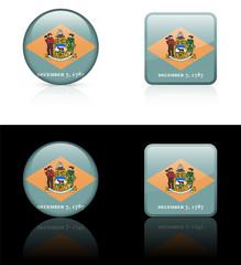 Delaware Icon on Internet Button