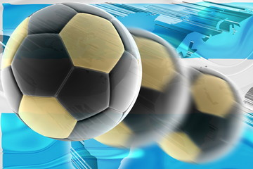 Argentina flag wavy soccer