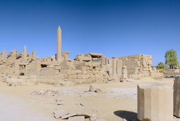 Ruin of the Karnak Temple Complex. Luxor, Egypt