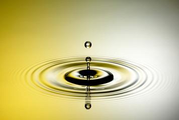 Wassertropfen Ring