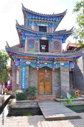 Maison de chine photo libre de droits sur la banque d for Acheter maison en chine