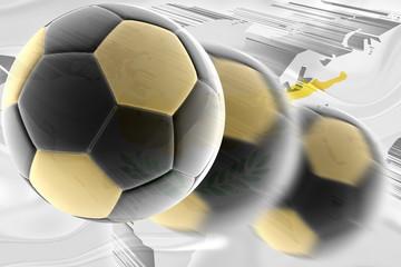 Cyprus flag wavy soccer