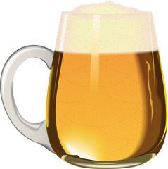 Chopine de bière