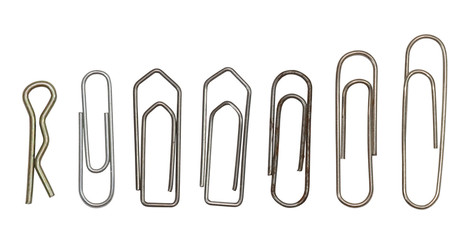 Collection of paper clips