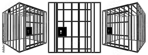 cage vector 01 stock image and royalty free vector files on fotolia