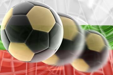 Bulgaria flag wavy soccer