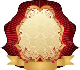 vitnage decorative emblem
