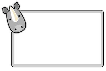 Marco rinoceronte