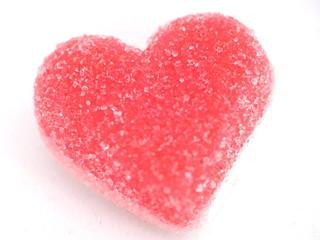 bonbon en coeur