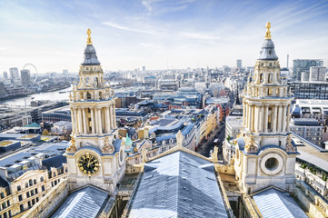 Central London and St Paul`s Cathedral